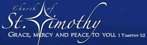 st timothy blaine logo